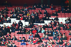 December 13, 2018 - London, England, United Kingdom - London, UK, 13 December, 2018.Missing Arsenal Fans.during Europa League Group E  between Arsenal and of Qarabag FK at Emirates stadium , London, England on 13 Dec 2018. (Credit Image: © Action Foto Sport/NurPhoto via ZUMA Press)