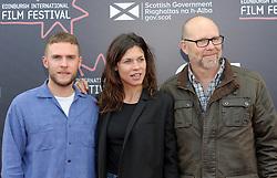 Edinburgh International Film Festival, Thursday, 21st June 2018<br /> <br /> Juror's Photocall<br /> <br /> Pictured: Iain De Caestecker, Ana Ularu and Jason Connery<br /> <br /> (c) Aimee Todd | Edinburgh Elite media