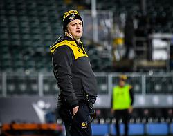 Wasps head coach Lee Blackett during warm ups - Mandatory by-line: Andy Watts/JMP - 08/01/2021 - RUGBY - Recreation Ground - Bath, England - Bath Rugby v Wasps - Gallagher Premiership Rugby