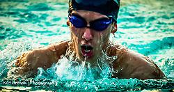 Swimming Senior Portrait