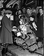 'Puss in Boots' Pantomime at The Olympia.12/12/1952