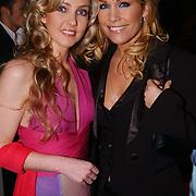 Kerstborrel Princess 2004, Brigitte Nijman en Tanja Jess