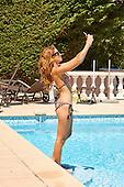 Binky Felstead looking stunning in Bikini while in Cannes
