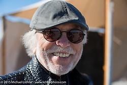 Harley-Davidson's Willie G Davidson at the Race of Gentlemen. Wildwood, NJ, USA. October 11, 2015.  Photography ©2015 Michael Lichter.