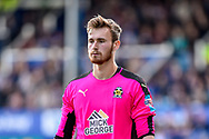 Cambridge United Goalkeeper, Will Norris (1) during the EFL Sky Bet League 2 match between Portsmouth and Cambridge United at Fratton Park, Portsmouth, England on 22 April 2017. Photo by Adam Rivers.