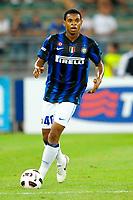 Emeka Obiorah NWANKWO Inter <br /> Bari 13/8/2010 Stadio San Nicola<br /> Trofeo Tim - Inter Juventus<br /> Foto Andrea Staccioli Insidefoto