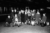 1963 - Children en route for  Gaeltacht holiday