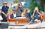 KING WILLEM ALEXANDER AND QUEEN MAXIMA AND PRINCESS AMALIA ARIANE AND ALEXIADURING SAIL 2015
