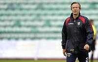 Fotball<br /> 12.07.2012<br /> Qualification Europa League Q1<br /> Kvalifisering til Europa League Q1<br /> Stabæk v JJK Jyvaskyla 3:2 (3:4 agg)<br /> Foto: Morten Olsen, Digitalsport<br /> <br /> Petter Belsvik - trener Stabæk
