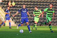 Forest Green Rovers v Cardiff City 150715