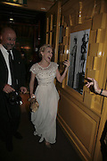 Kylie Minogue,  Charles Finch and Chanel 7th Anniversary Pre-Bafta party to celebratew A Great Year of Film and Fashiont at Annabel's. Berkeley Sq. London W1. 10 February 2007. -DO NOT ARCHIVE-© Copyright Photograph by Dafydd Jones. 248 Clapham Rd. London SW9 0PZ. Tel 0207 820 0771. www.dafjones.com.