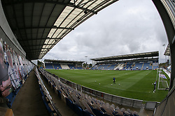 A general view of the stadium - Mandatory by-line: Arron Gent/JMP - 03/10/2020 - FOOTBALL - JobServe Community Stadium - Colchester, England - Colchester United v Oldham Athletic - Sky Bet League Two