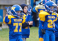 Salisbury Mills, New York - Washingtonville Gold plays Marlboro in an Orange County Youth Football League Division I semifinal playoff game on Nov. 10, 2013.