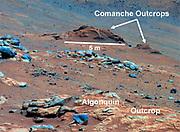 Comanche Outcrop on Mars Indicates Hospitable Past