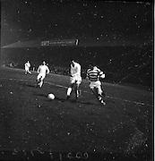 22/02/1963.02/22/1963.22 February 1963.Celtic vs Morton at Dalymount park, Dublin. Special for Scottish Daily Express.