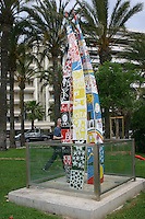 Sculpture in Cannes South of France