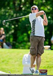 John McSloy of Scotland during Slovenia Long Drivers European Tour  Championship on July 5, 2014 in  Golf Arboretum Ljubljana, Volcji Potok, Slovenia. Photo By Vid Ponikvar / Sportida