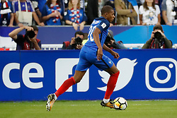 France's Kylian Mbappe during the World Cup 2018 Group A qualifications soccer match, France vs Netherlands at Stade de France in Saint-Denis, suburb of Paris, France on August 31st, 2017 France won 4-0. Photo by Henri Szwarc/ABACAPRESS.COM