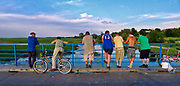 Rozlewiska Biebrzy, most w Goniądzu, Polska<br /> Biebrza floodplains, bridge in Goniądz, Poland