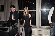 SUZETTE FIELD, the LOST HEARTS: Valentine's Masked Ball. Century Club, Shaftesbury ave, ,  London, 9 February 2019