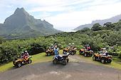 French Polynesia Moorea landscapes