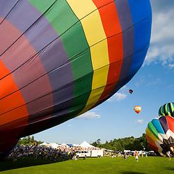Quechee Balloon Festival in Quechee Vermont USA