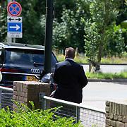 NL/Den Haag/20200702 - Maxima ontmoet vertegenwoordigers uitvaartbranche, Beveiliging Koninklijk huis