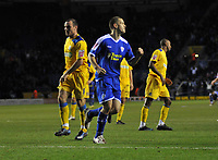 Photo: Tony Oudot/Richard Lane Photography. Leicester City v Southend United. Coca-Cola Football League One. 06/12/2008. <br /> GOAL!  Matty Fryatt of Leicester City celebrates with team mates after scoring his hattrick