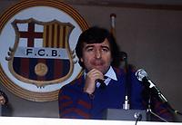 Fotball<br /> Barcelona Historie<br /> Foto: Fotosports/Digitalsport<br /> NORWAY ONLY<br /> <br /> TERRY VENABLES MANAGER<br /> BARCELONA 1985/1986