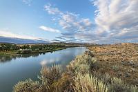 Missouri River near Judith Landing, Upper Missouri Breaks National Monument Montana