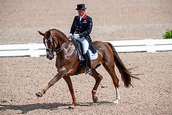 FAURIE Emile (GBR), Dono di Maggio<br /> Tryon - FEI World Equestrian Games™ 2018<br /> Grand Prix de Dressage Teamwertung und Einzelqualifikation<br /> 12. September 2018<br /> © www.sportfotos-lafrentz.de/Stefan Lafrentz