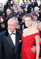 Fawaz Gruosi and Irina Shayk at the Killing Them Softly gala screening at the 65th Cannes Film Festival France. Tuesday 22nd May 2012 in Cannes Film Festival, France.