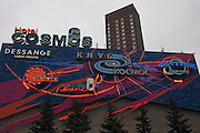 Moscow, Russia, 31/03/2012..Exterior of the Hotel Cosmos.