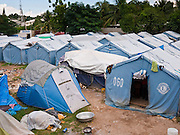 16 NOVEMBER 2010 - PORT-AU-PRINCE: HAITI: People live in tents in a park in the Delmas neighborhood of Port-au-Prince. The Jan. 12 earthquake has left hundreds of thousands of Haitians homeless and 10 months after the earthquake Haitians are still living in tents donated by foreign governments and NGOs. PHOTO BY JACK KURTZ