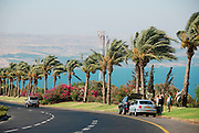Israel, Galilee, the road down to the Sea of Galilee