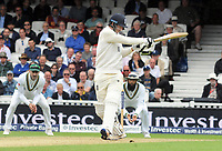 Cricket - 2017 South Africa Tour of England - Third Test, Day Two<br /> <br /> England debutant Toby Roland - Jones enjoying himself as a batsman during the afternoon session, at The Oval.<br /> <br /> COLORSPORT/ANDREW COWIE