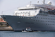 Cruise ship, Willemstaad, Curacao, Netherlands Antilles