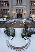 2020 February Campus Snow