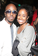 """l to r: Kwame and Tamika at The YRB Magazine's """" How You Rock It 3 """" with a special performance by Busta Ryhmes and hosted by YRB held at M2 Lounge on May 19, 2009 in New York City."""