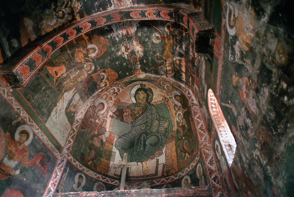 Saint George Church, Svaneti Region, Caucasus Mountains, The Country of Georgia