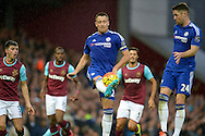 John Terry, the Chelsea captain in action.  Barclays Premier League, West Ham Utd v Chelsea at The Boleyn Ground, Upton Park in London on Saturday 24th October 2015.<br /> pic by John Patrick Fletcher, Andrew Orchard sports photography.