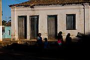Januaria _ MG, Brasil...Fachada de uma casa em Januaria...House facade in Januaria...Foto: LEO DRUMOND /  NITRO