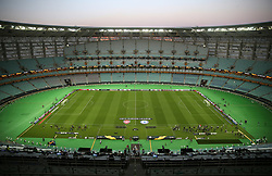 A general view of the Olympic Stadium ahead of the match during the UEFA Europa League final at The Olympic Stadium, Baku, Azerbaijan.