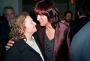 RACHEL WHITEREAD; JANET STREET-PORTER, Counter Editions 10th anniversary party. Rivington Grill. Shoreditch. London. 5 May 2010 *** Local Caption *** -DO NOT ARCHIVE-© Copyright Photograph by Dafydd Jones. 248 Clapham Rd. London SW9 0PZ. Tel 0207 820 0771. www.dafjones.com.<br /> RACHEL WHITEREAD; JANET STREET-PORTER, Counter Editions 10th anniversary party. Rivington Grill. Shoreditch. London. 5 May 2010