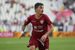 August 19, 2017 - Turin, Piedmont, Italy - Fabio Pisacane (Cagliari Calcio) during the Serie A football match between Juventus FC and Cagliari Calcio at Allianz Stadium on august 19, 2017 in Turin, Italy. (Credit Image: © Massimiliano Ferraro/NurPhoto via ZUMA Press)
