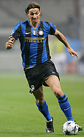 "IBRAHIMOVIC<br /> Milano 22/10/2008 Stadio ""Giuseppe Meazza"" <br /> Champions League 2008/2009<br /> Inter-Anorthosis<br /> Foto Luca Pagliaricci Insidefoto"