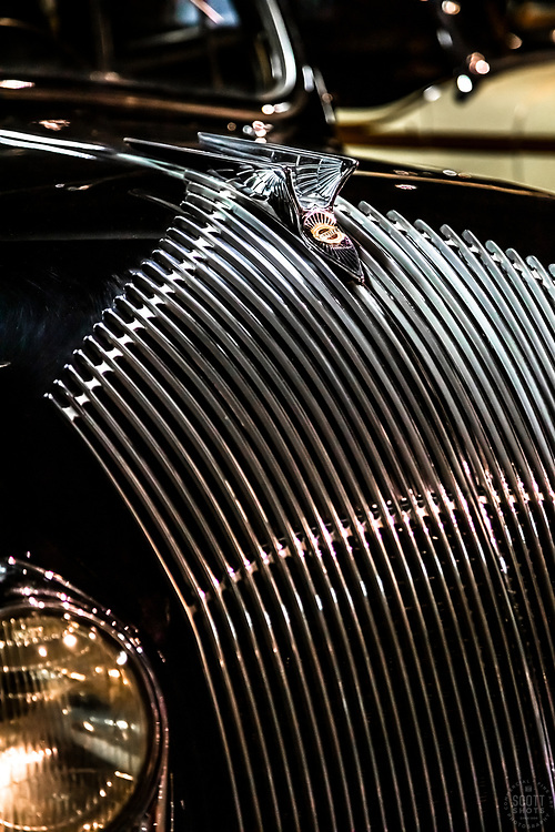 """""""Parts From The Past 28"""" - Abstract photograph of automobile parts, shot with special permission at the National Automobile Museum in Reno, Nevada. <br /> <br /> Available as prints but not as stock photography."""