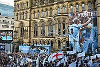 Football - Premier League - Manchester City Premier League Trophy Parade<br /> The Manchester City side begin their bus parade through Manchester