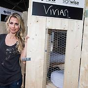 NLD/Zandvoort/20140518 - Lock me Up - Free a Girl  2014, Vivian Reijs voor haar hokje