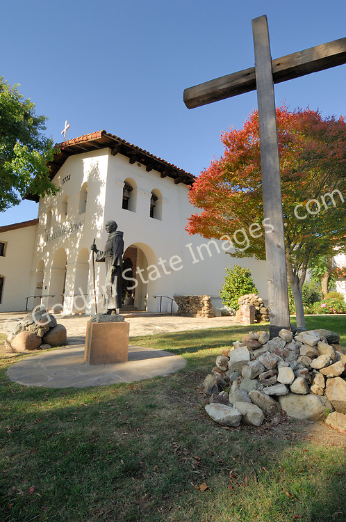 The fifth California mission founded by Father Junipero Serra September 1, 1772 in San Luis Obispo, in central coastal California. <br /> <br /> Named after Saint Louis, Bishop of Toulouse, France.<br /> <br /> The mission was established in an area known as the valley of the bears. The bears provided a much needed food source for the then starving Spanish missionaries. A fountain commemorates the bears which once inhabited San Luis Obispo.